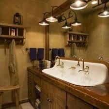 Rustic Bathroom Lighting Ideas Rustic Bathroom Vanity Light Fixtures Http Reformtherfs Us