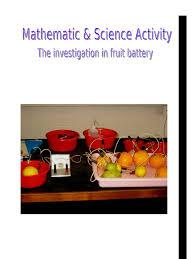 bureau des hypoth鑷ues de sci report of fruit battery voltage battery electricity