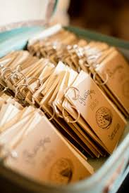 Halloween Wedding Favors Check Out These Mini Recipe Book Wedding Favors Offbeat Bride