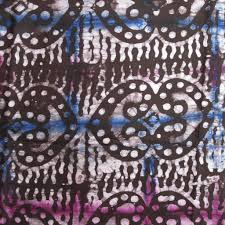 authentic dyed batik fabric from africa ananse