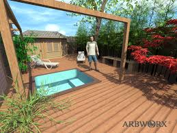 fair garden decking designs for your decorating home ideas with