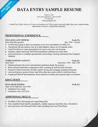 Resume Of Data Entry Operator Data Entry Operator U003ca Href U003d