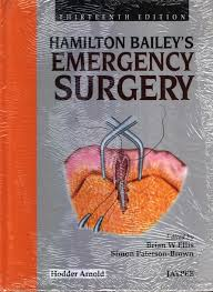 hamilton bailey u0027s emergency surgery 13th edition buy hamilton