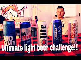 best light beer to drink on a diet which is the best light beer blind test review youtube
