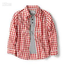 boys checked shirts boy casual shirt sleeve boys shirts