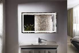 vanity led light mirror budapest iv lighted vanity mirror led bathroom mirror high arc