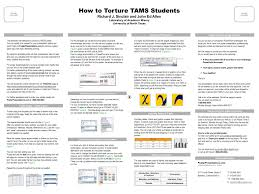 poster template by research poster session everyone who had a