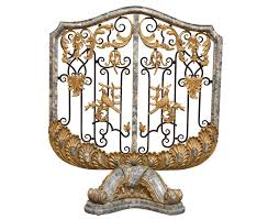 antique fireplace screen dact us