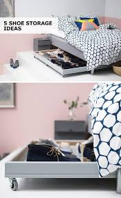 best ideas about under bed storage pinterest with shoe storage solutions