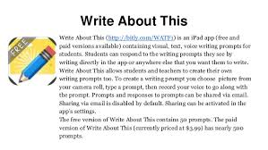 online writing lab creative writing examples for year 7