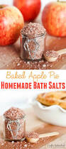 homemade bath salts baked apple pie crafts unleashed