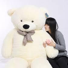 joyfay 91 230cm white teddy plushtoy