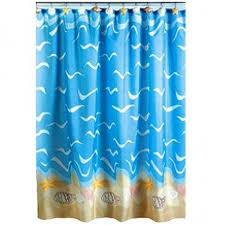 Bathroom Shower Curtain by Beach Themed Curtains Beach Themed Shower Curtains 17 Best Ideas