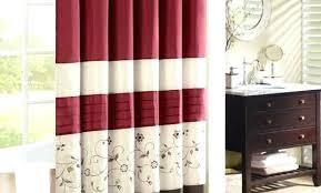 Burgundy Shower Curtain Liner Burgundy Shower Curtain Shower Design And Accessories