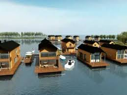 Floating Houses Animation Of Floating Houses In Pori Finland Youtube