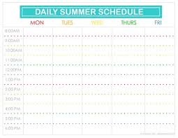 printable daily schedule kids daily schedule printable listmachinepro com