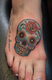 arm sugar skull skeleton tattoos