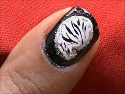 fancy zebra stripes how to short nails designs to do at home easy