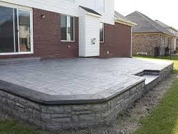 Backyard Flooring Options - 780 best diy stamp concrete images on pinterest outdoor ideas