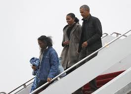 back from vacation obama to tie up loose ends before presidency