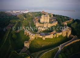 dover castle aerial view dover castle kent jason hawkes