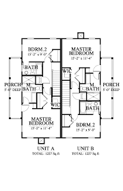 Floor Plans And Elevations Of Houses London Mews Duplex House Plan 063272 Design From Allison