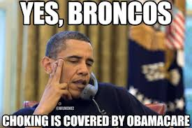 Broncos Losing Meme - obama ordering a pizza on the phone meme pictures to pin on pinterest