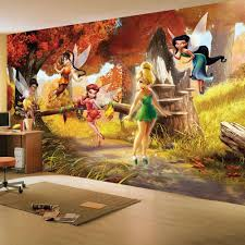 disney fairies tinkerbell friends large wall mural room decor disney fairies tinkerbell friends large wall mural room decor wallpaper new