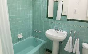 blue and green bathroom ideas 36 1950s green bathroom tile ideas and pictures