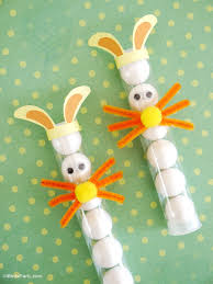 diy easter bunny treat tubes for kids party ideas party printables