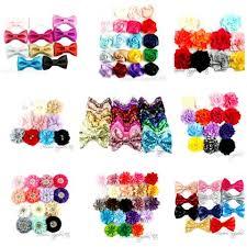hair bow supplies hairbow supplies etc ribbon elastic flowers for hair accessories