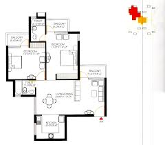 Floor Plan Of by Price Of Omaxe Heights Faridabad Omaxe Heights Faridabad