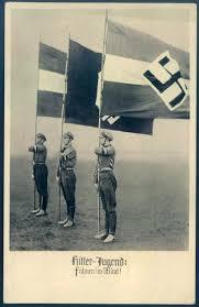 German Flag In Ww2 Youth