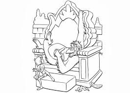 jungle book monkey king coloring pages free coloring pages