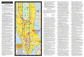New York City Map Of Manhattan by New York City Maps Nyc Fair Map Of Manhattan With Attractions