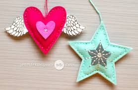 die cut felt ornaments big giveaways mcguire ink