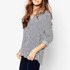 striped blouse emary striped blouse black and white in clothing jessicabuurman