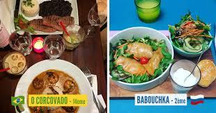 cuisine monde top 43 des restaurants de qui font voyager dans le monde