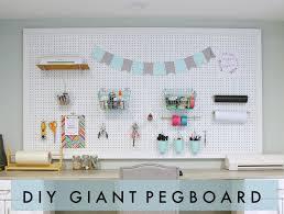 peg board diy giant pegboard occasionally crafty diy giant pegboard