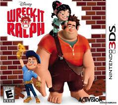 wreck ralph review 3ds nintendo