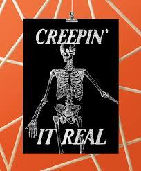Printable Halloween Skeleton Halloween Skeleton Free Printable U2022 Little Gold Pixel
