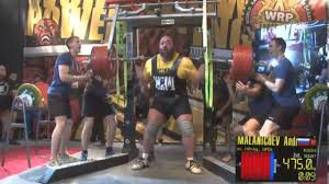 new world record powerlifter andrey malanichev squats 475kg