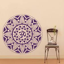 Wall Decals Vinyl Sticker Mandala by Popular Om Lotus Wall Decal Buy Cheap Om Lotus Wall Decal Lots