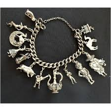 vintage charm bracelet charms images Vintage charm bracelet 13 charms spain jewelry watches gif