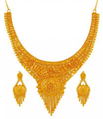 gold necklace earrings set images 22k gold necklace set ajns60192 us 2 608 22 karat yellow jpg