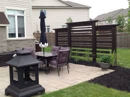 Backyard Privacy Ideas Fashionable Backyard Privacy Best 25 Ideas On Pinterest