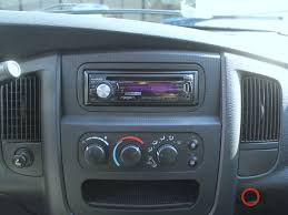 2005 Dodge Ram Navigation Radio 2002 2008 Dodge Ram 1500 Stereo Head Unit Replacement 2002 2003