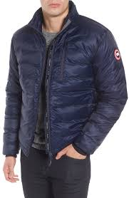 canada goose lodge slim fit packable windproof 750 down fill