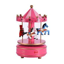 Childrens Music Boxes New Romantic Birthday Gift Carrousel Music Box For Girlfriend