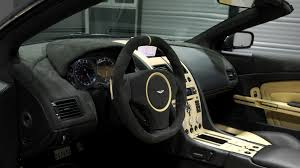 aston martin steering wheel download wallpaper 1920x1080 aston martin db9 2009 black salon